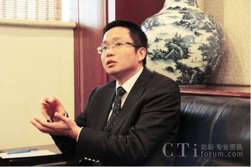 东进技术总裁贺建楠先生