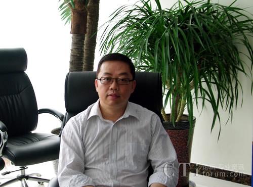 北京英立讯科技有限公司副总裁 齐君