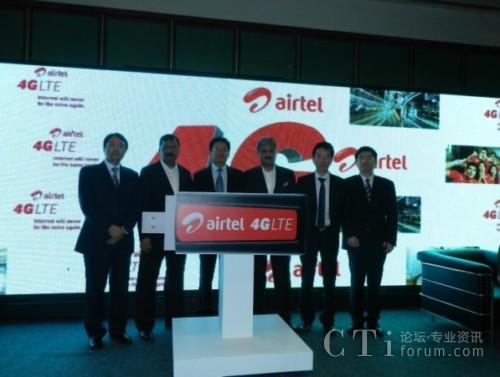 中兴通讯助力印度第一大移动运营商成功商用南亚首个TD-LTE网络