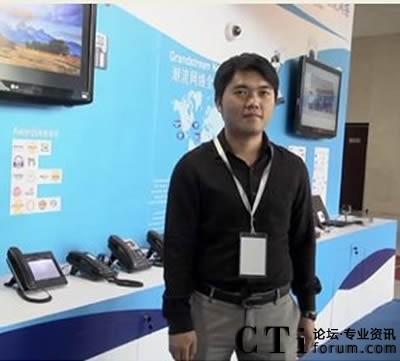 潮流网络市场营销部中国区经理吴海健