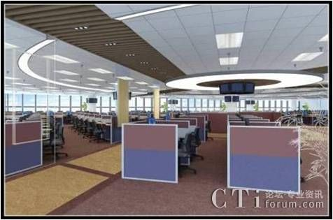 呼叫中心职场建设案例:中信银行信用卡中心客服中心