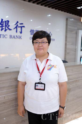 中信银行信用卡中心呼入室主管:万玉君 - 人物