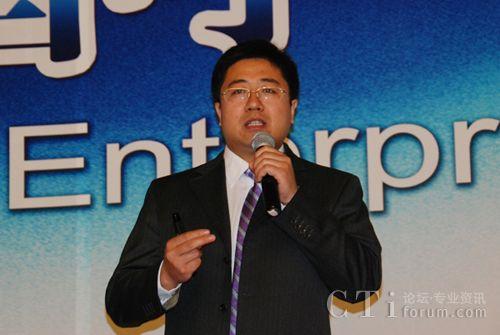 华为企业联络中心产品规划总监 王俊海