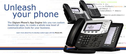 Asterisk开发商现在可以为Digium IP电话创建定制应用程序