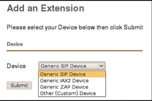 《FreePBX 使用指南》:设备和分机