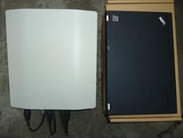 华为LTE小基站与ThinkPad 12寸笔记本对比