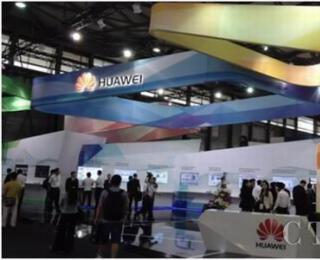 华为TD-LTE F+4D跨频段载波聚合亮相亚洲移博会
