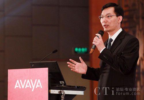 Avaya大中华区副总裁沈晓晖