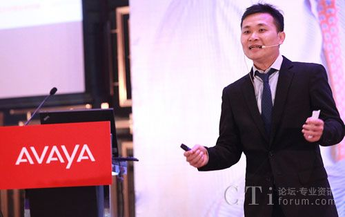 Avaya 中小企业业务中国区区域经理何少庆