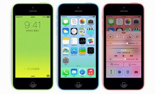 苹果发布iPhone 5c/5s 中国20日首批上市