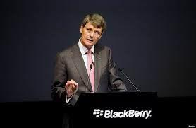 黑莓被收购海因斯将获巨额薪酬