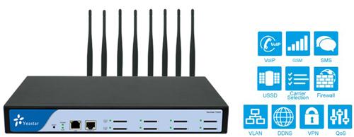 亿群隆重推出全新VoIP GSM网关