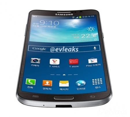 三星发布曲面屏幕智能手机Galaxy Round
