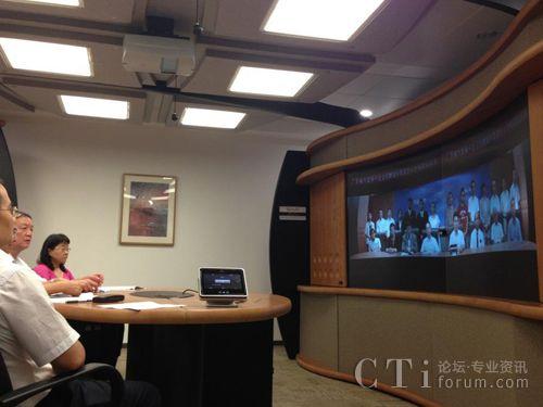 Polycom助全国首个海外远程视频招聘会成功举办
