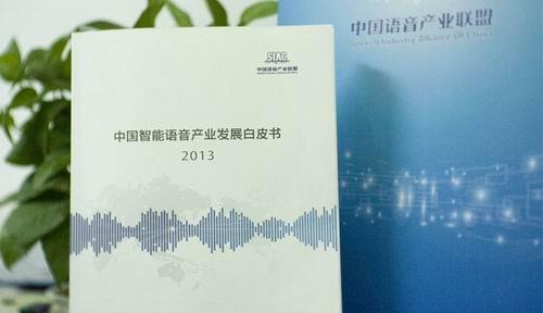 《2013 中国智能语音产业发展白皮书》发布