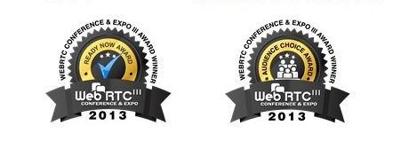 Dialogic在WebRTC大会暨获Ready Now大奖