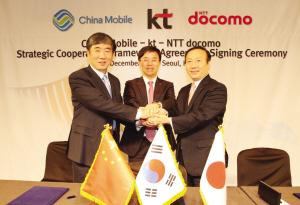 中韩日三方携手为9亿客户服务