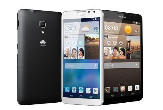 华为CES 2014亮相今年首款4G大屏旗舰智能手机