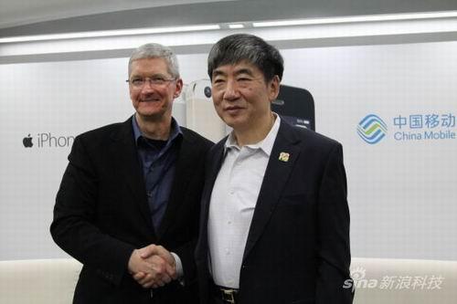 对话中移动与苹果掌门人:过去、现在和未来