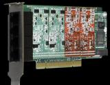 Asterisk/Digium 1A4A06F /PCI/Digium原装进口4口模拟语音板卡@OCTC/020-83274558