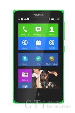 诺基亚推出首款安卓智能手机Nokia X