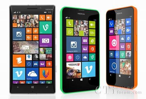 诺基亚Lumia 630惊艳亮相微软Build2014开发者大会