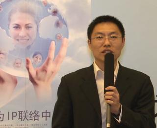 华为技术高级产品经理段信义展台采访视频