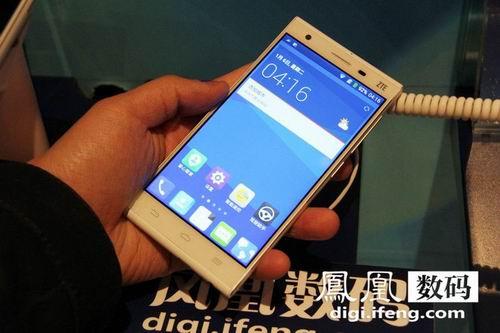 中兴发布星星一号手机 纤薄机身声纹解锁