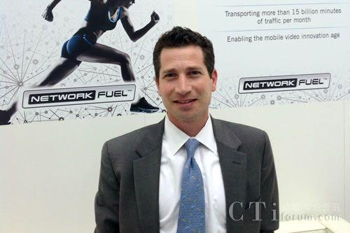 Dialogic公司高级副总裁安德鲁・戈德堡(Andrew Goldberg)