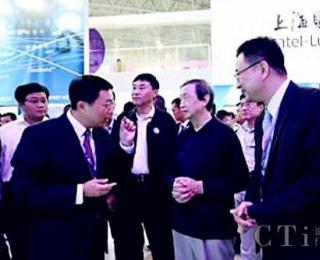 国务院副总理马凯莅临上海贝尔展台