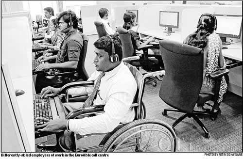 印度孟买的EuroAble联络中心