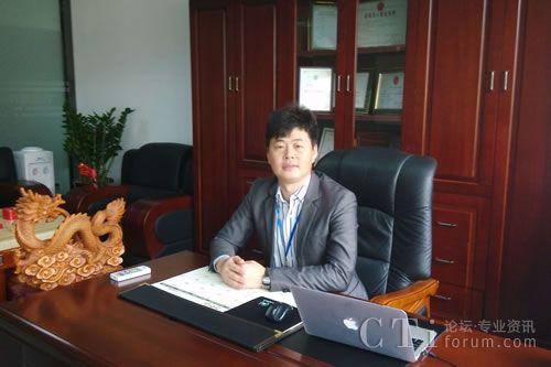 深圳市长鑫盛通科技有限公司总经理刘铁成