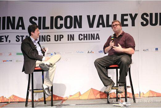 丹华资本创始人兼董事长张首晟与LinkedIn创始人Reid Hoffman