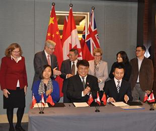 号百与京东全球购、新永安集团签署三方战略合作协议