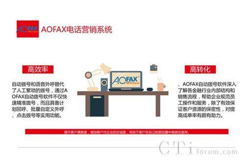 AOFAX营销型呼叫中心:注重客户、管理、数据和录音系统软件