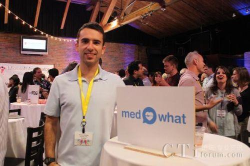 人工智能医疗应用MedWhat创始人德文萨