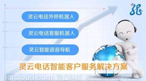 捷通华声推出国内首款灵云智能电话外呼机器人