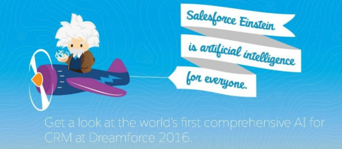 Salesforce发布Einstein人工智能平台