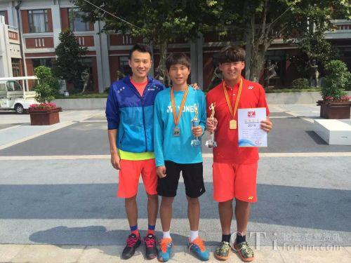 远传技术之星王晓飞在2016青少年网球赛上再创佳绩
