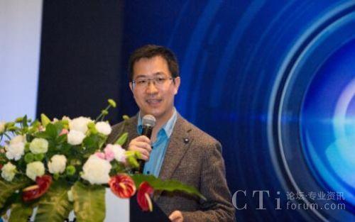 青牛软件CEO胡云飞致辞