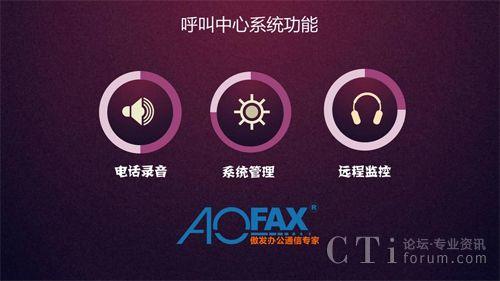 aofax呼叫中心在120电话调度系统中的应用