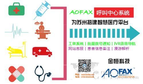 AOFAX呼叫中心系统,助力苏州实现医疗全面普及