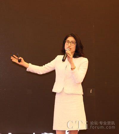 易谷网络CAME研究院院长兼首席顾问孙媛女士