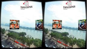 transcosmos发布基于360度全景图的VR推广启动套件