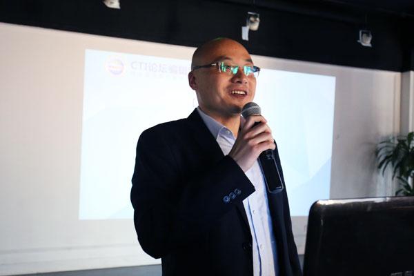 神州数码通信事业部副总经理杜晓钰