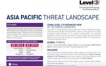 Level 3在新加坡建造DDoS清洗中心