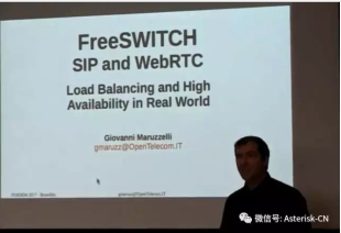 Asterisk/FreeSWITCH 开发者大会演讲