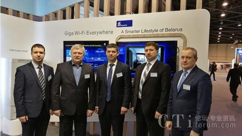 白俄罗斯电信携手华为联合展示商用智慧家庭业务