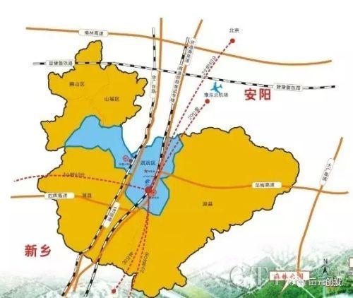 鹤壁到北京高铁路线