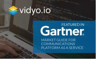 Vidyo.io在Gartner最新CPaas市场指南中获推荐